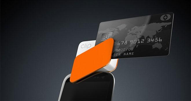 CLIP, lector de tarjetas de crédito y débito compatible con Smartphones
